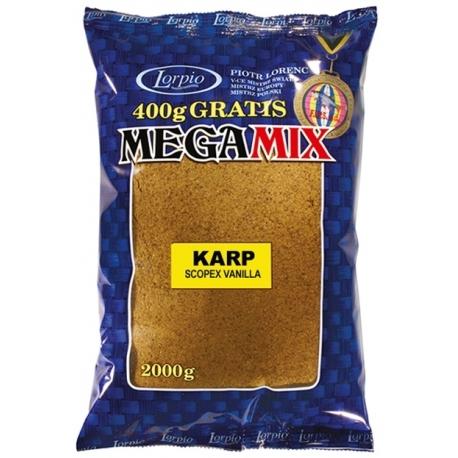 Zanęta LORPIO MEGA MIX Karp Scopex Vanilla 3kg